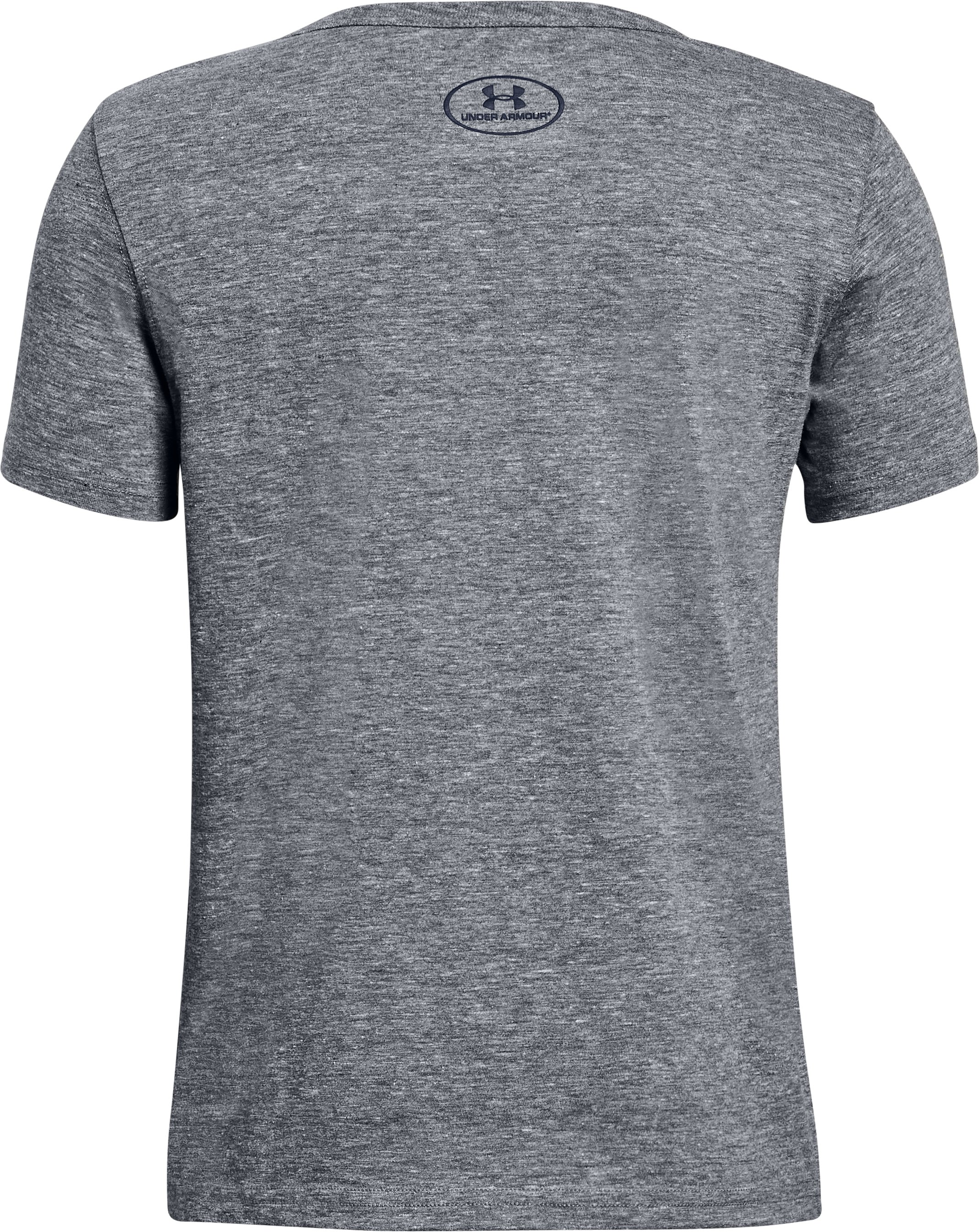 Boys' Naval Academy Iconic Tri-Blend Crew, Gray, undefined