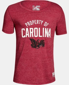 New Arrival Boy's South Carolina Iconic Tri-Blend Crew  1 Color $37.99