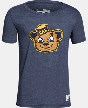 Boy's Cal Bears Iconic Tri-Blend Crew  1 Color $37.99