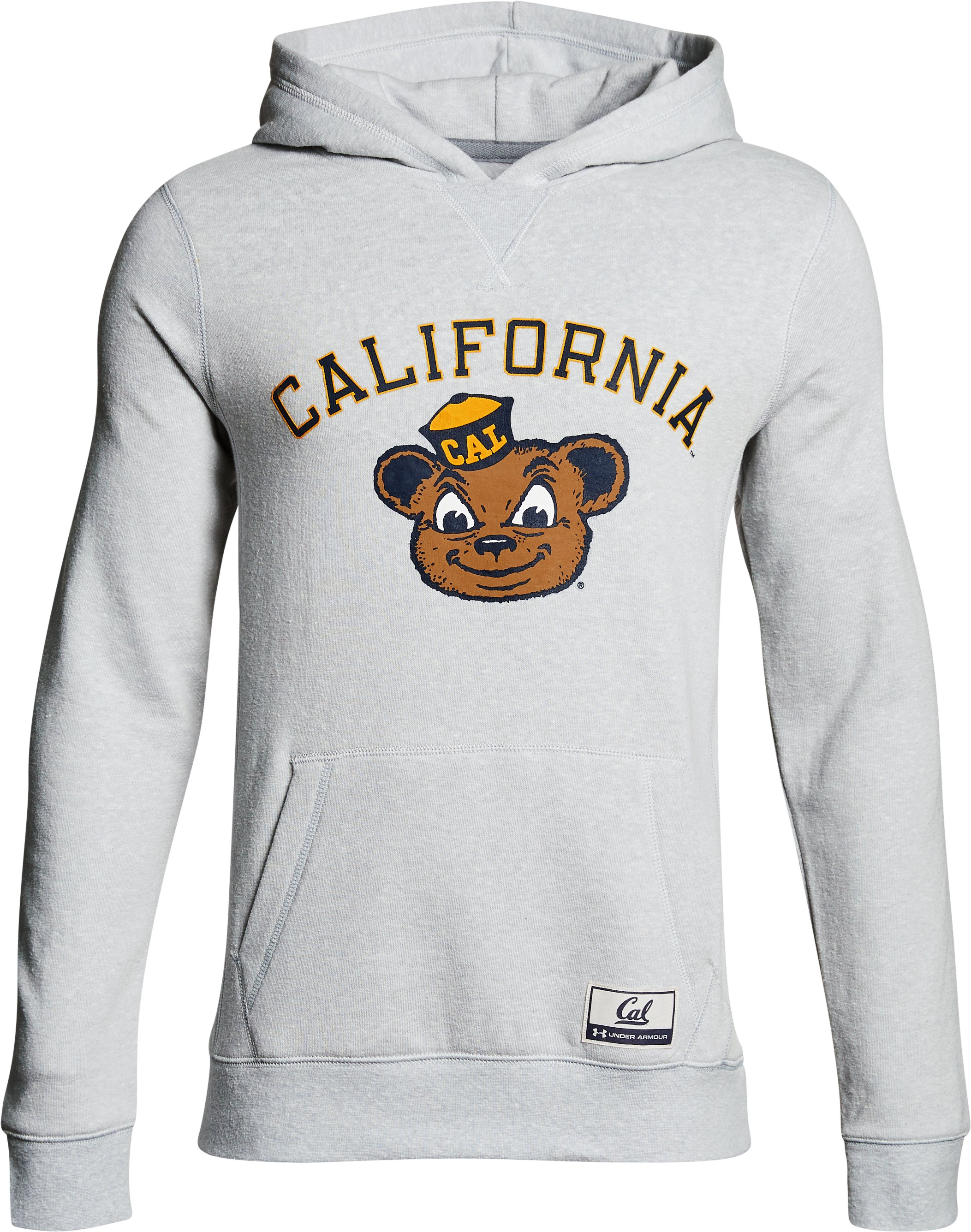 Boy's Cal Bears Iconic Hoodie, Gray, undefined