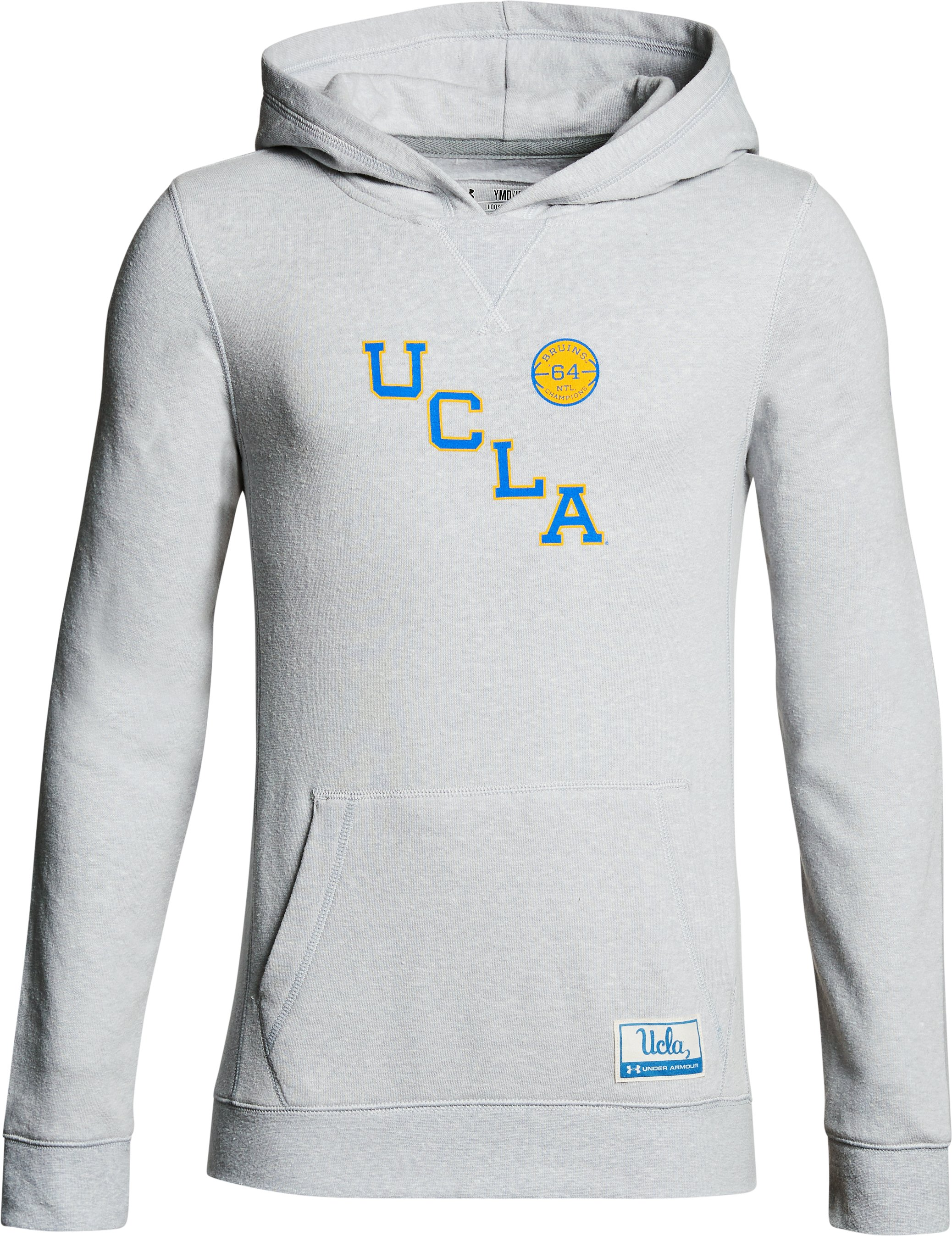 Boy's UCLA Iconic Hoodie, Gray, undefined