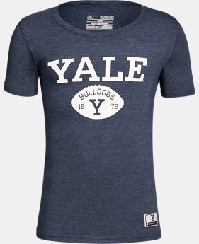 New Arrival Boy's Yale Iconic Tri-Blend Crew  1 Color $37.99