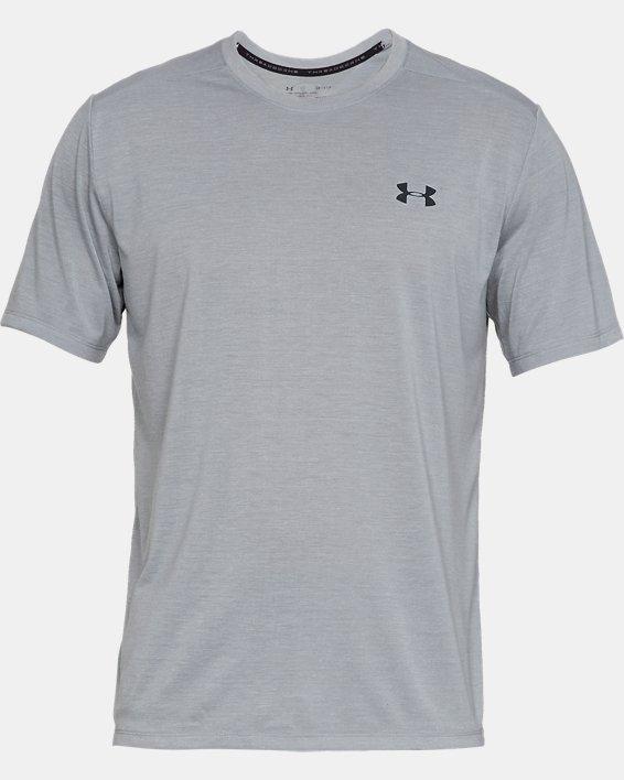 Men's UA Siro Short Sleeve, Gray, pdpMainDesktop image number 3