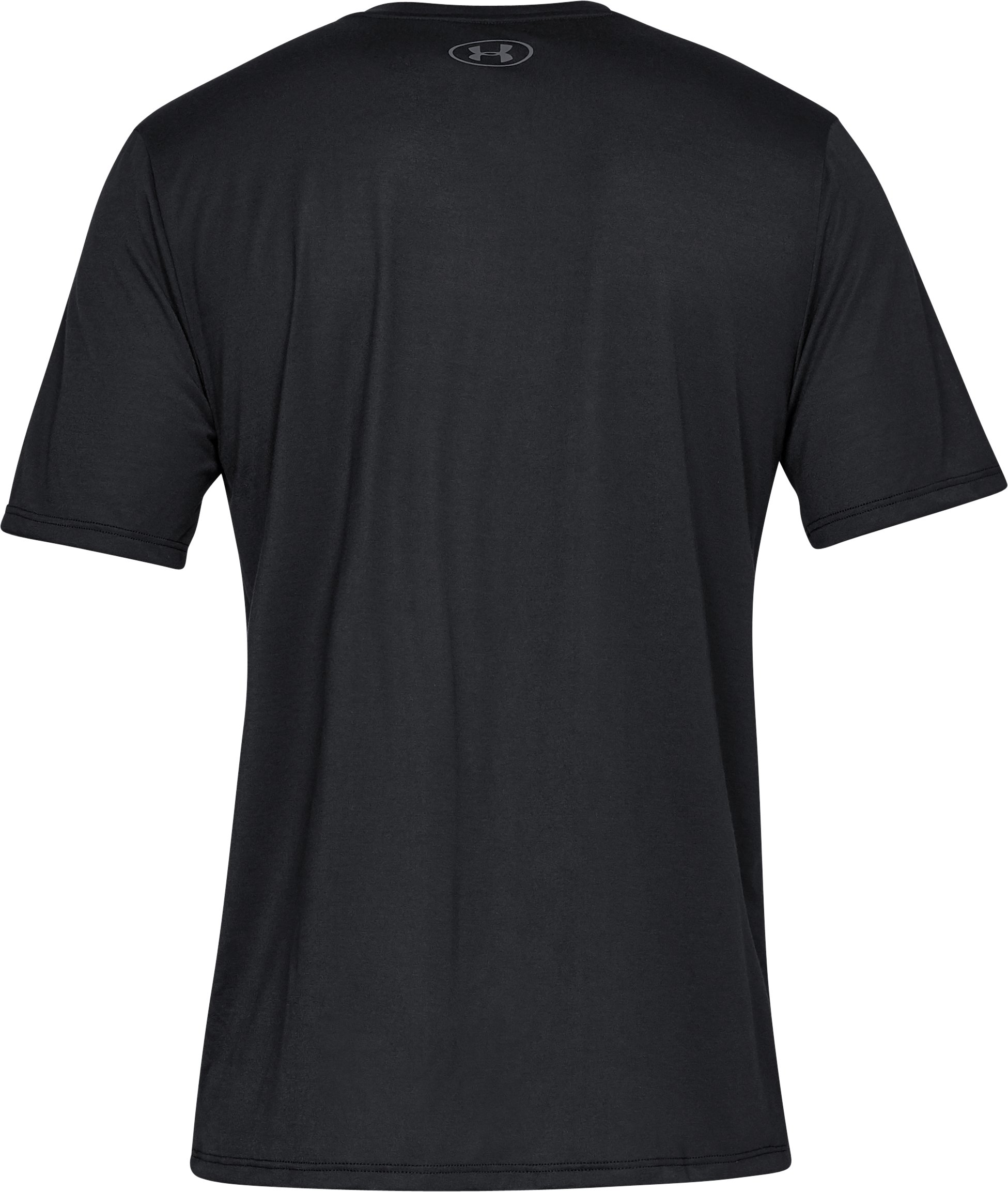 Men's UA Siro Short Sleeve V-neck, Black ,