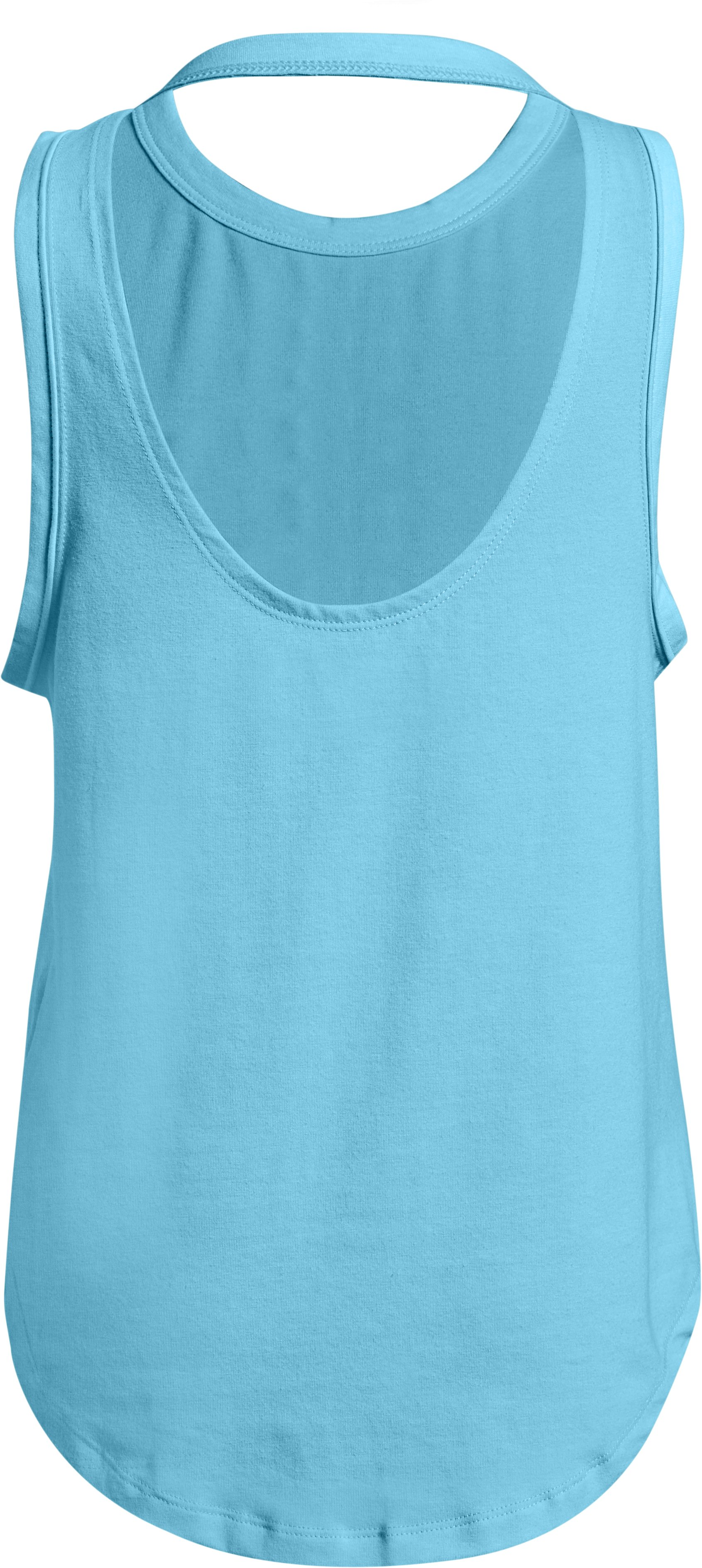 Girls' UA Finale 'Shine' Tank, Venetian Blue,