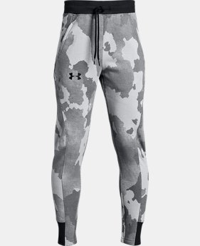 Boys' UA Rival Joggers - Printed  2  Colors Available $45