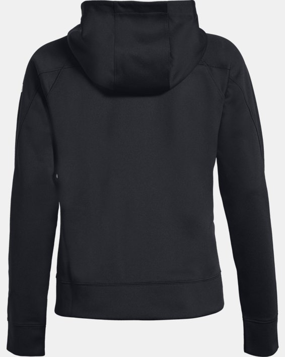 Women's UA RECOVER™ Track Jacket, Black, pdpMainDesktop image number 4