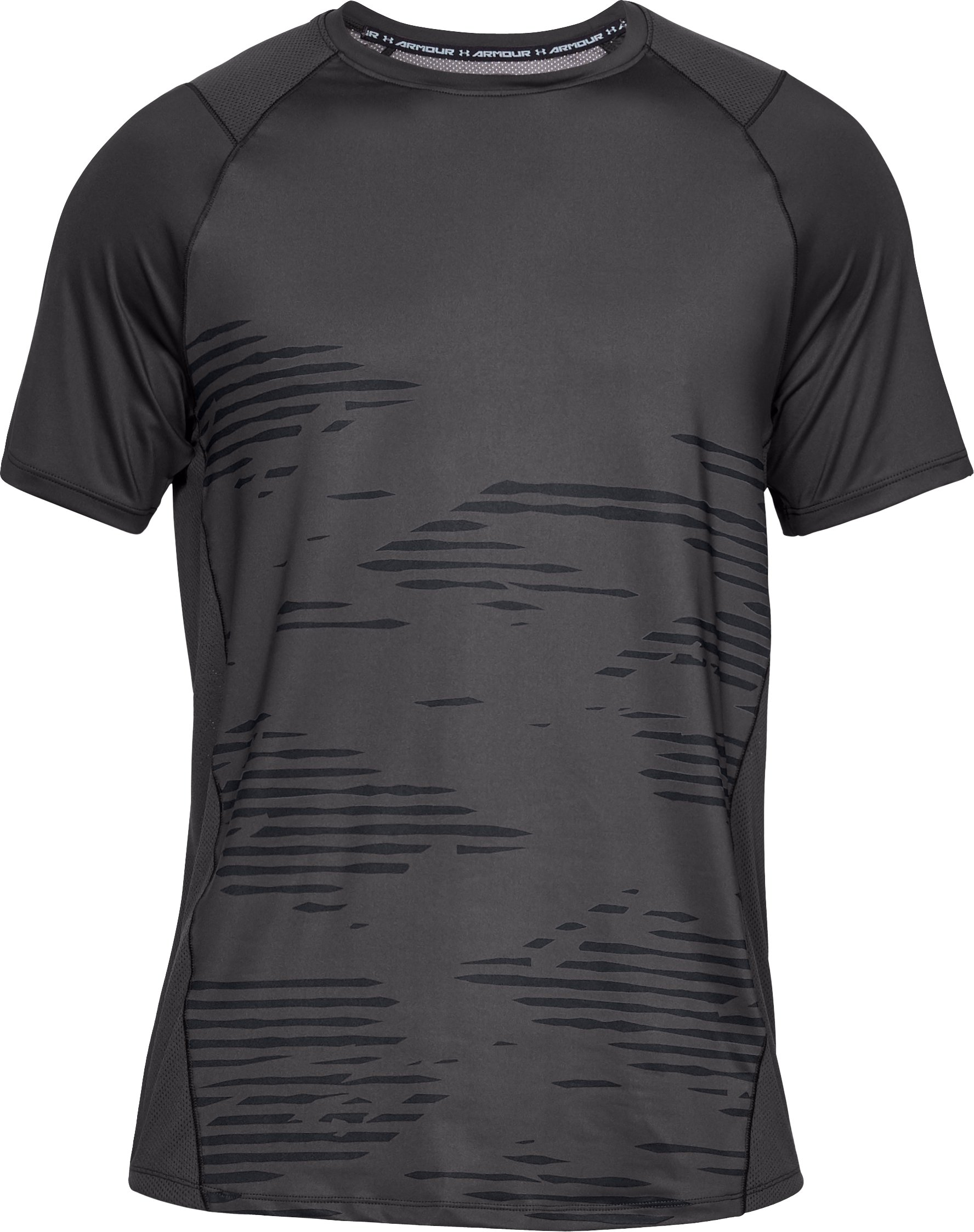 Men's UA MK-1 Camo Short Sleeve, Charcoal,