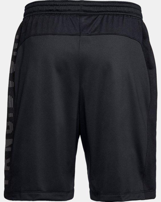 Men's UA MK-1 TRNG DVSN Graphic Shorts, Black, pdpMainDesktop image number 5