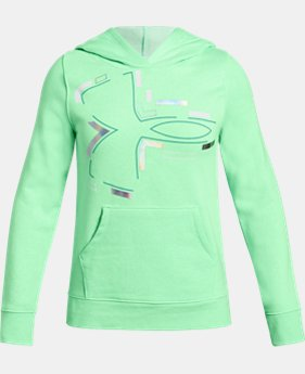 Girls UA Rival Fleece Hoodie  2  Colors Available $40