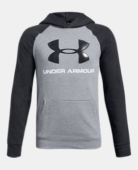Boys  UA Rival Logo Hoodie 2 Colors Available  30 to  37.5 b09456920
