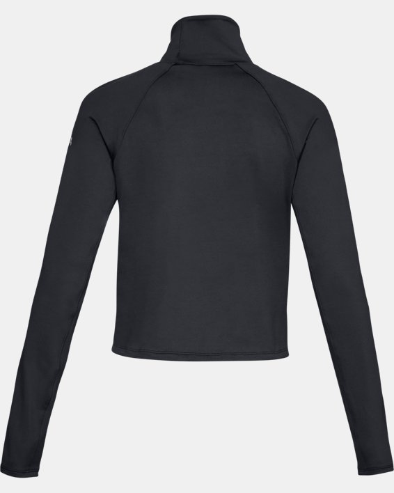 Women's UA Cozy Long Sleeve, Black, pdpMainDesktop image number 5