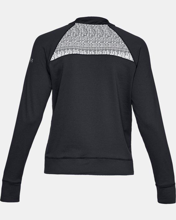 Women's UA Cozy Full Zip Jacket, Black, pdpMainDesktop image number 5