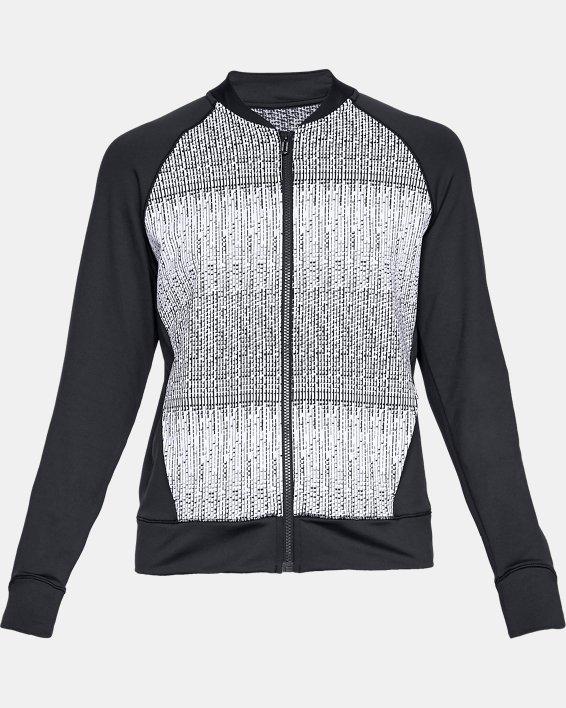 Women's UA Cozy Full Zip Jacket, Black, pdpMainDesktop image number 4