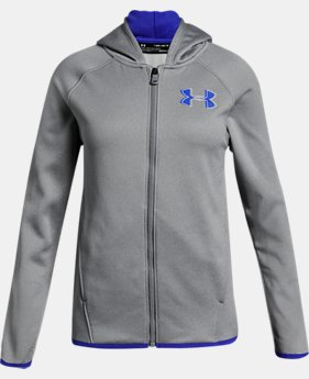 New Arrival Girls' Armour Fleece® Full Zip Hoodie   $45