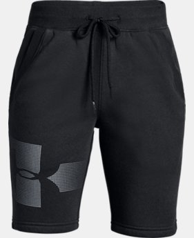 New to Outlet Boys' UA Rival Fleece Shorts - Graphic  3  Colors Available $21