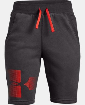 New Arrival Boys' UA Rival Fleece Shorts - Graphic  1  Color Available $35