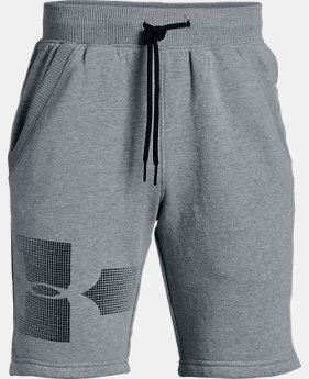 Boys' UA Rival Fleece Shorts - Graphic  4  Colors Available $40
