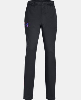 Girls' UA Track Pants  1  Color Available $35