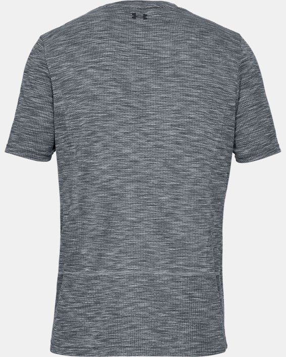 Men's UA Vanish Seamless Short Sleeve, Gray, pdpMainDesktop image number 4