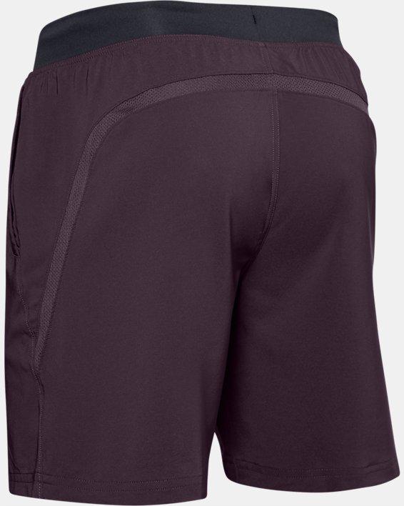 "Men's UA Speedpocket Run 7"" Shorts, Purple, pdpMainDesktop image number 4"