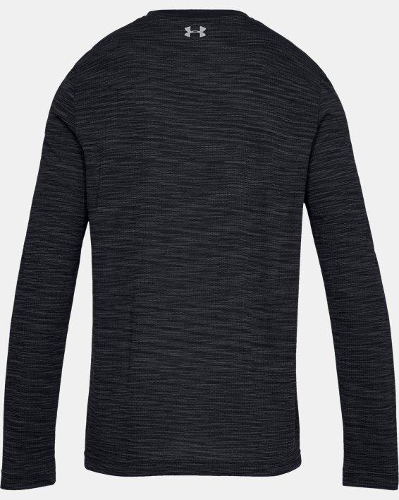 Haut à manches longues sans coutures UA Vanish pour homme, Black, pdpMainDesktop image number 4