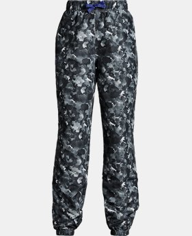 Girls' UA Phenom Hybrid Printed Pants  1  Color Available $60