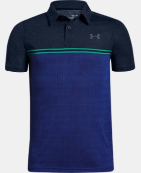 Boys' UA Jordan Spieth Threadborne Callibrate Polo  2  Colors Available $40