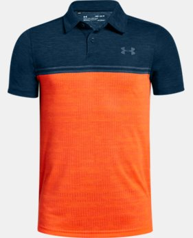 Boys' UA Jordan Spieth Threadborne Callibrate Polo  2  Colors Available $50