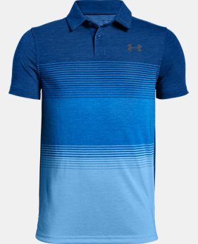 Boys' UA Jordan Spieth Threadborne Gradient Polo  1  Color Available $50