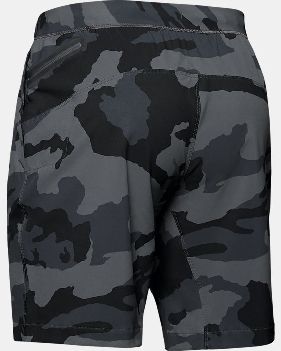 Men's UA Fusion Shorts, Gray, pdpMainDesktop image number 4