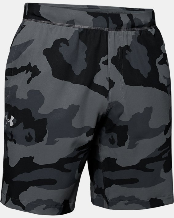 Men's UA Fusion Shorts, Gray, pdpMainDesktop image number 3