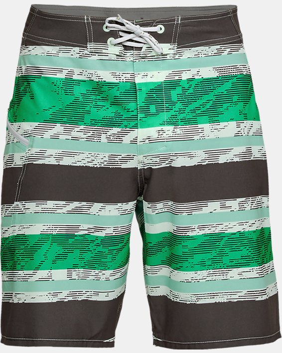 Men's UA Tide Chaser Boardshorts, Green, pdpMainDesktop image number 4