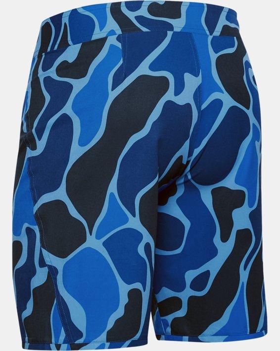 Men's UA Tide Chaser Boardshorts, Blue, pdpMainDesktop image number 4