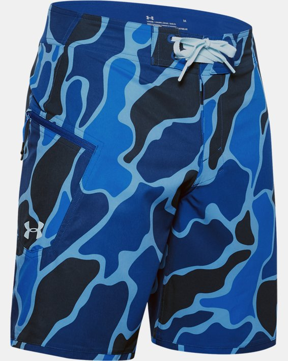 Men's UA Tide Chaser Boardshorts, Blue, pdpMainDesktop image number 3