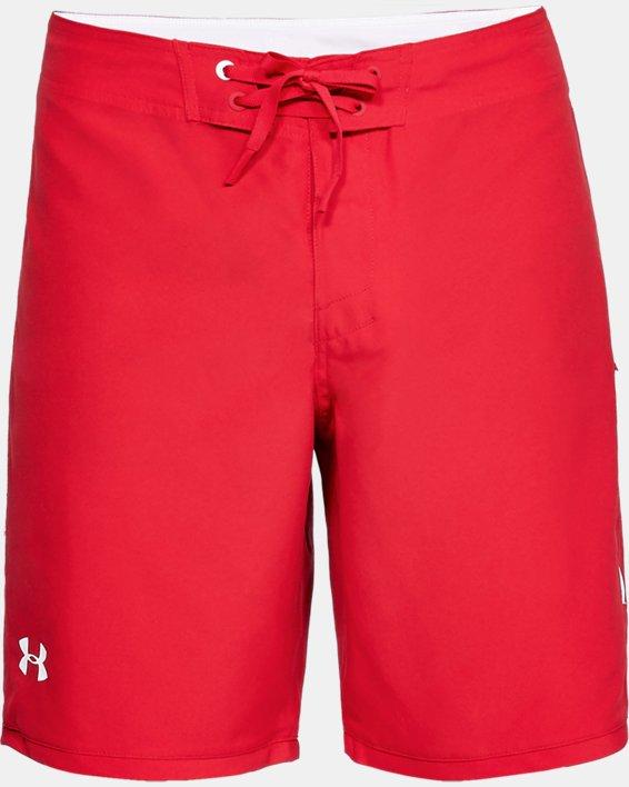 Men's UA Shore Break Boardshorts, Red, pdpMainDesktop image number 4