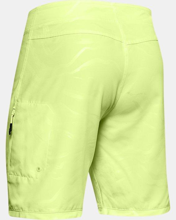 Men's UA Shore Break Boardshorts, Yellow, pdpMainDesktop image number 4