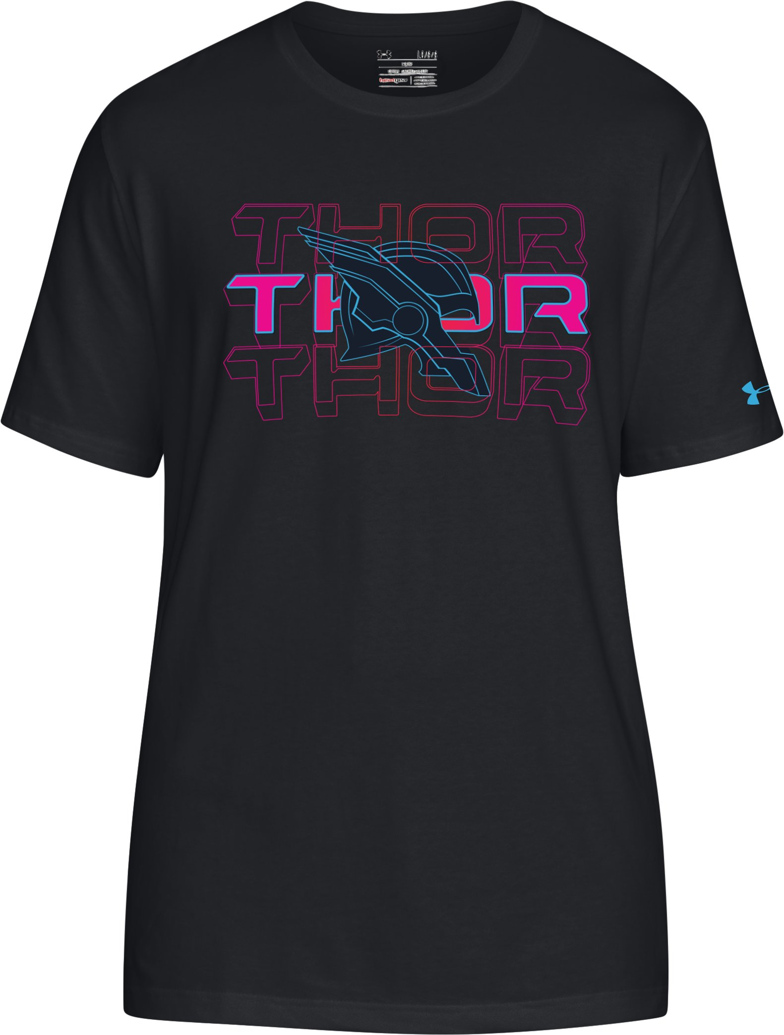 Men's UA Thor T-Shirt, Black , undefined