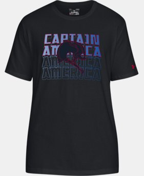 Men's UA Captain America T-Shirt  1  Color Available $34.99