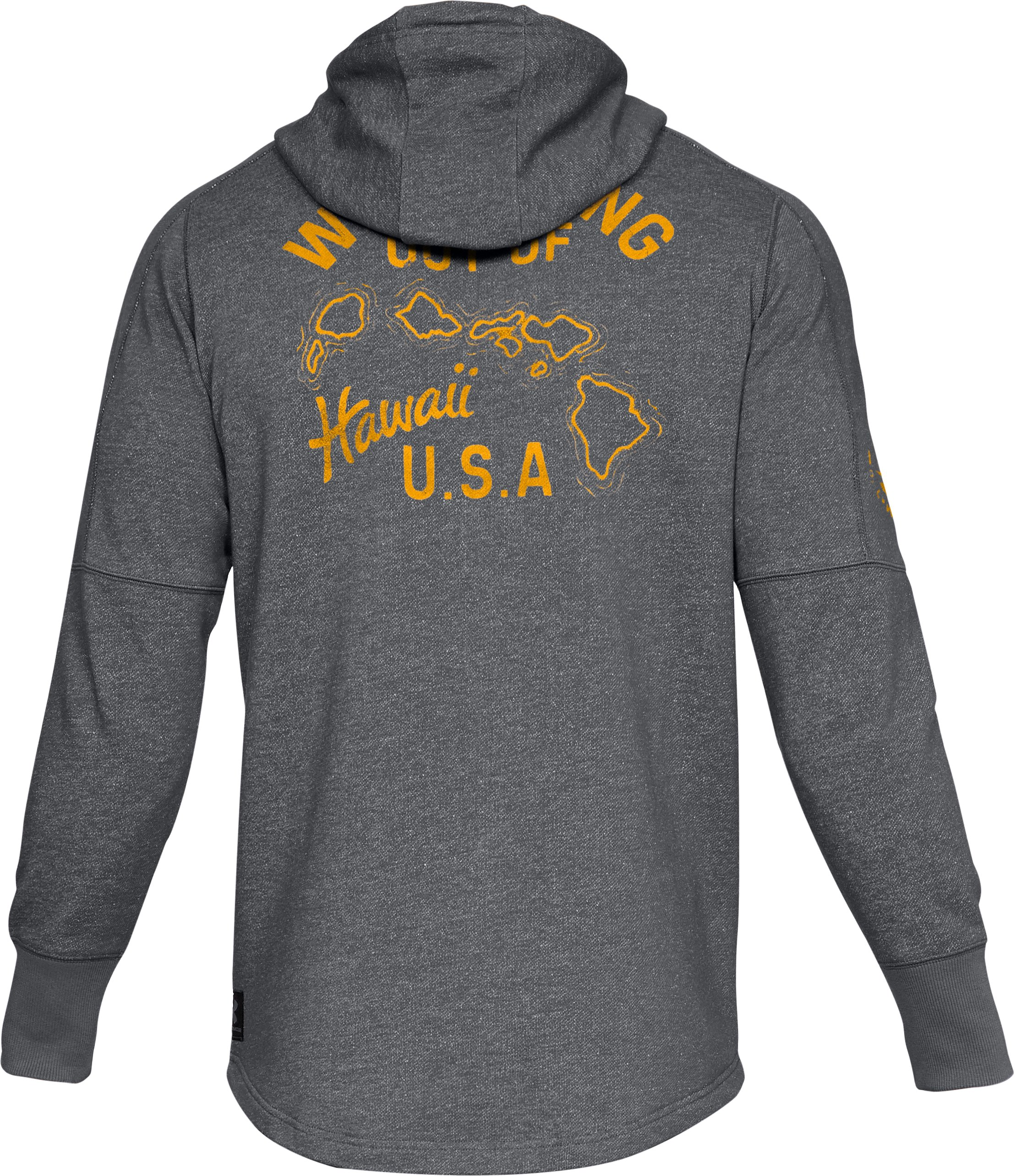 Men's UA x Project Rock Hawaii USA Hoodie, Graphite,