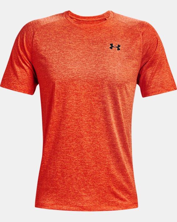 Haut à manches courtes UATech™2.0 pour homme, Orange, pdpMainDesktop image number 4