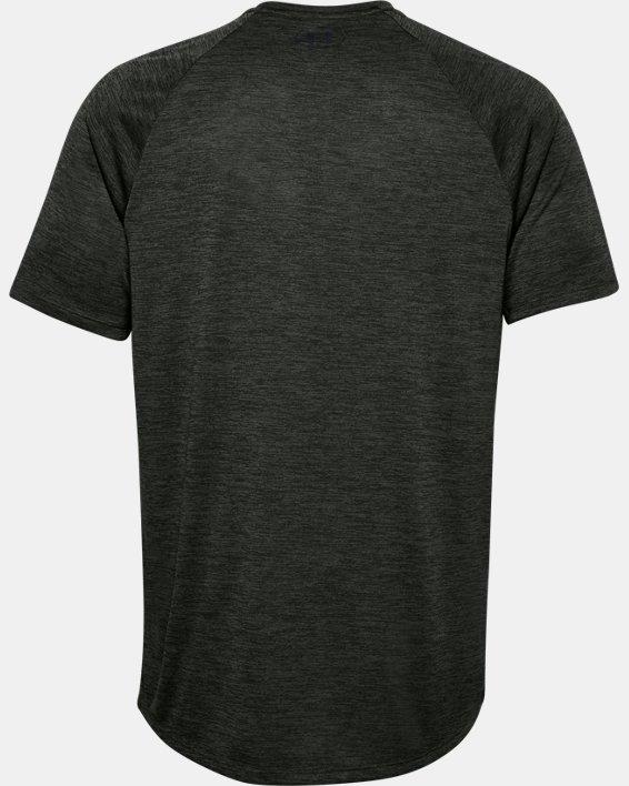 Men's UA Tech™ 2.0 Short Sleeve, Green, pdpMainDesktop image number 5