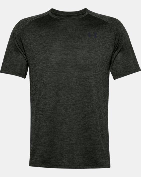 Men's UA Tech™ 2.0 Short Sleeve, Green, pdpMainDesktop image number 4
