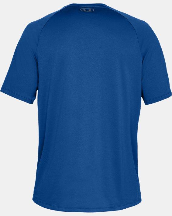 Men's UA Tech™ 2.0 Short Sleeve, Blue, pdpMainDesktop image number 5