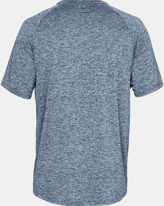 Men's UA Tech™ 2.0 Short Sleeve, Navy, pdpMainDesktop image number 4