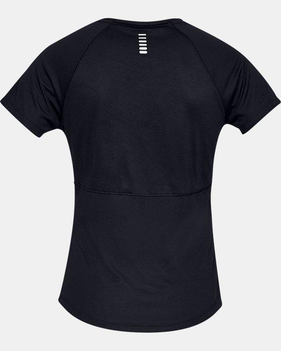Women's UA Speed Stride Short Sleeve, Black, pdpMainDesktop image number 5