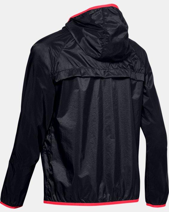Women's UA Qualifier Storm Packable Jacket, Black, pdpMainDesktop image number 4