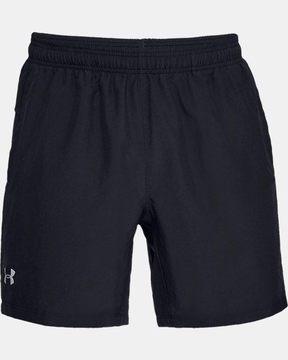 Men's UA Speed Stride Solid 7'' Shorts, Black, pdpMainDesktop image number 5