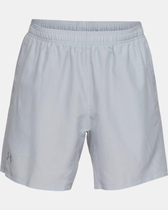Men's UA Speed Stride Solid 7'' Shorts, Gray, pdpMainDesktop image number 3