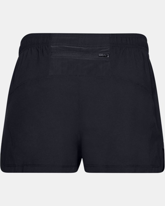 Men's UA Launch SW Split Shorts, Black, pdpMainDesktop image number 4